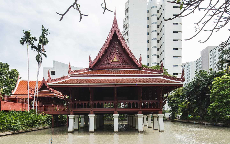 เรือนไทย จุฬาลงกรณ์มหาวิทยาลัย