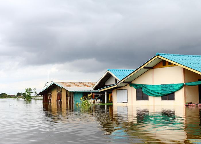 น้ำท่วมใต้ปัญหาผังเมืองไทย
