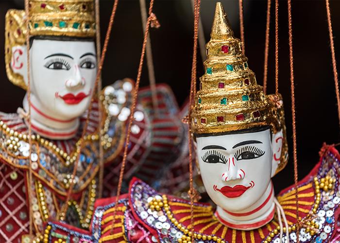 เพลิงพระนาง กับชาตินิยมไทยพม่า
