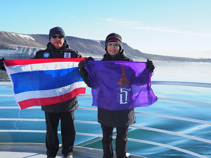 สองนักวิจัยไทยดำน้ำสำรวจขั้วโลกเหนือ พบน้ำทะเลขั้วโลกอุ่นขึ้นเฉลี่ย 5 องศา