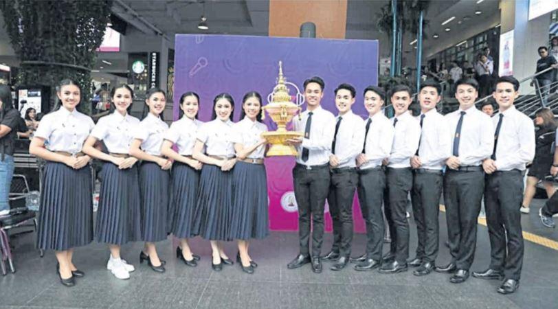 Photo News: Chula v Thammasat traditional football match