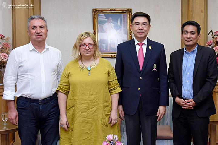 H.E. Mrs. Evren Dagdelen Akgun เอกอัครราชฑูตตุรกีประจำประเทศไทยเยือนจุฬาฯ