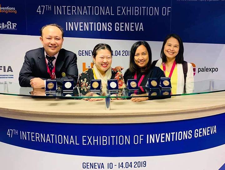 ผลงานนวัตกรรมจากคณะครุศาสตร์ จุฬาฯ ได้รับรางวัลการประกวดนวัตกรรมที่สมาพันธรัฐสวิส