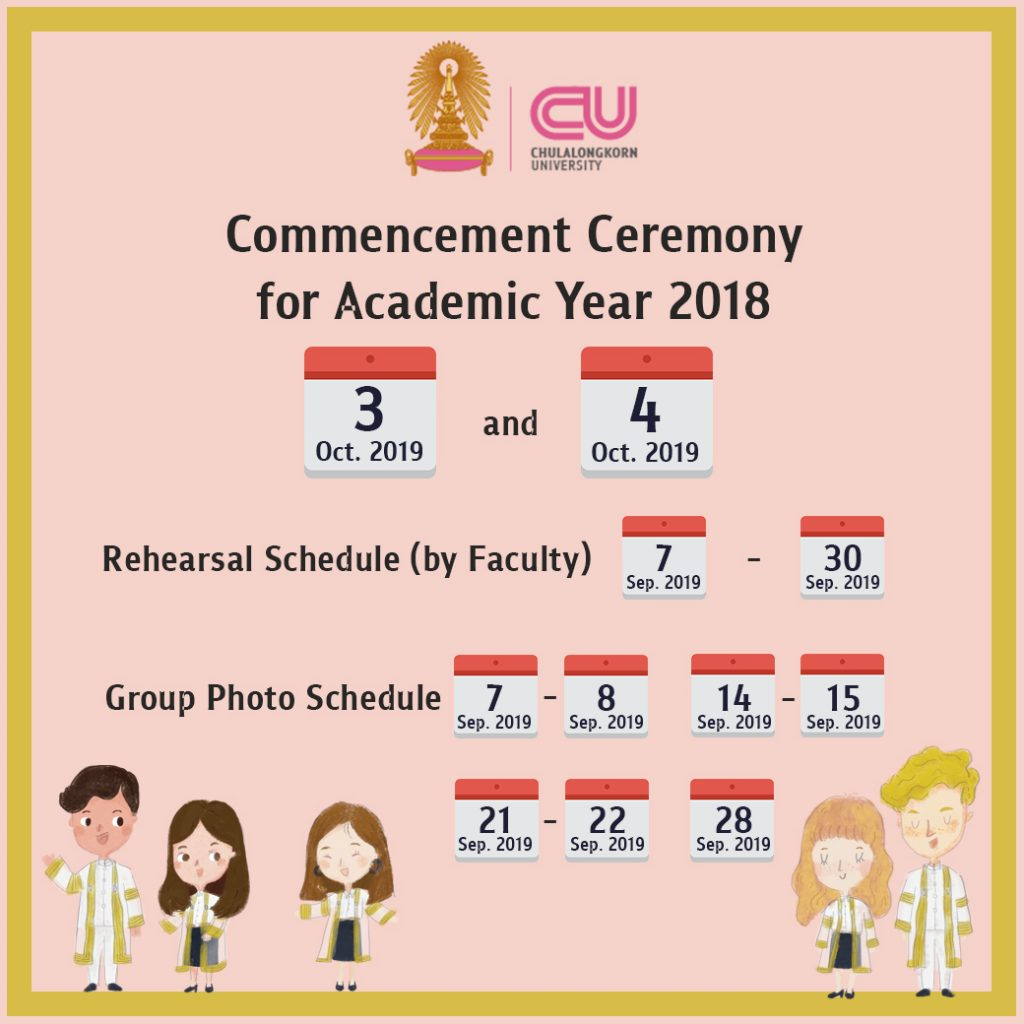 Chulalongkorn University Commencement Ceremony for Academic