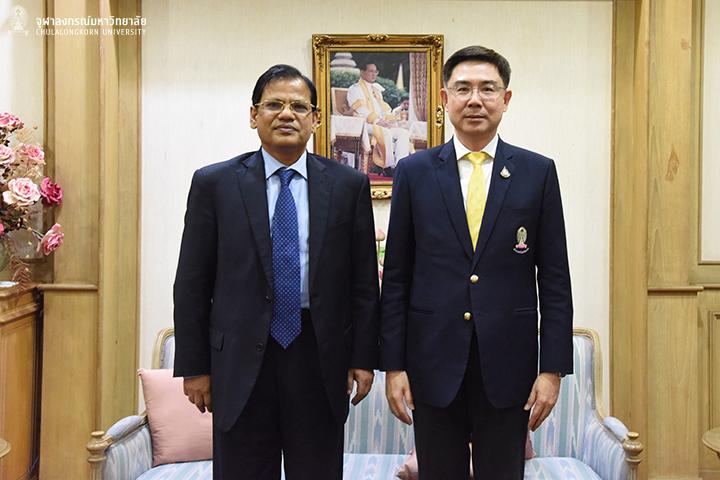 เอกอัครราชทูตสาธารณรัฐประชาชนบังกลาเทศประจำประเทศไทย เยือนจุฬาฯ