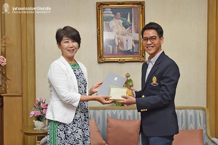 Vice President of Tohoku University Visits Chula