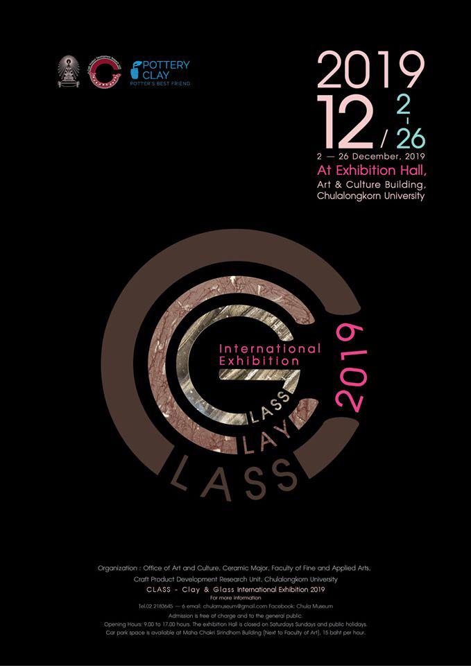 CLASS - Clay & Glass International Exhibition 2019