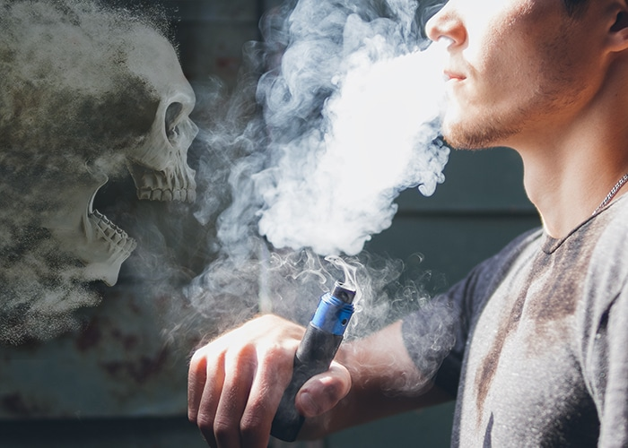 บุหรี่ไฟฟ้า ภัยไม่เงียบ