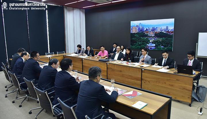 จุฬาฯ หารือความร่วมมือกับ Yangzhou University