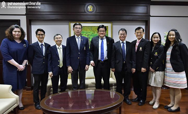 จุฬาฯ ให้การต้อนรับ President, China Medical University