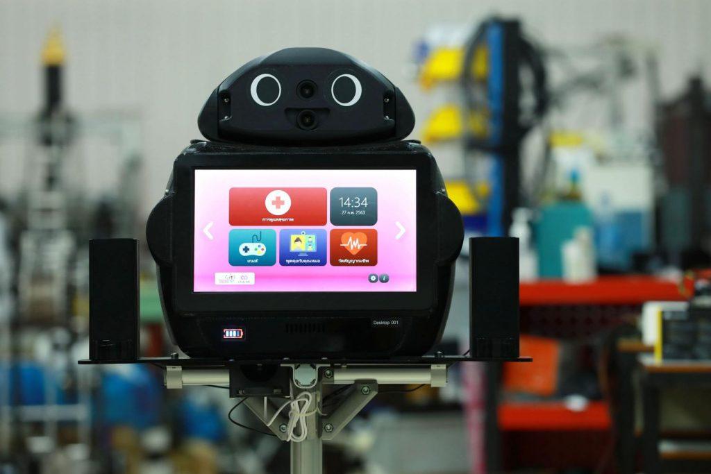 5G smart robots take care of coronavirus patients