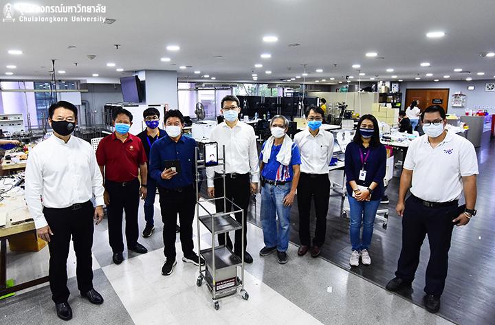 โมเดิร์นไนน์ทีวี สัมภาษณ์อาจารย์วิศวฯ จุฬาฯ เรื่องหุ่นยนต์ CU-RoboCOVID