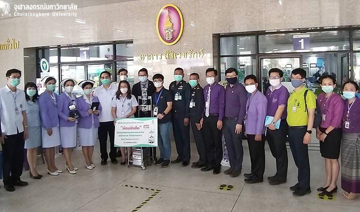 Princess Maha Chakri Sirindhorn Donates Robots to Assist Medical Staff at Nan Hospital and Sansai Hospital