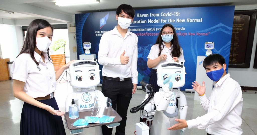 Chula Business School unveils 'lifeline learning safe haven'