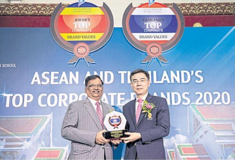 Photo News: Column TRADE Talk: Indorama Ventures receives Thailand's Top Corporate Brand Award