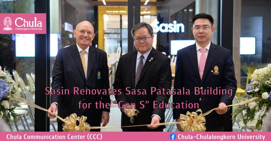 "Sasin Renovates Sasa Patasala Building for the ""Gen S"" Education"