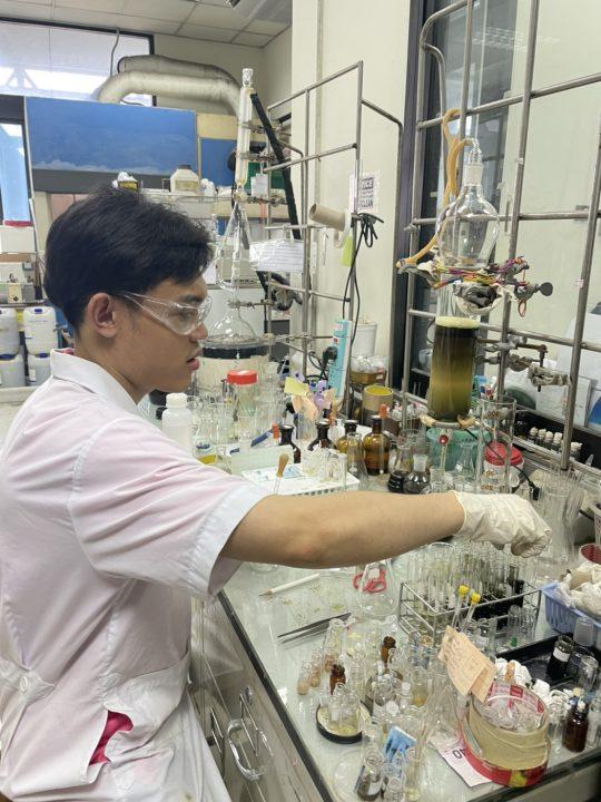 Prachak Khumploy, Department of Chemistry, Chulalongkorn University