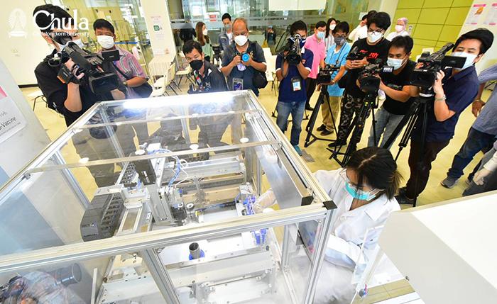 Chula's Automated Vaccine Filling Machine