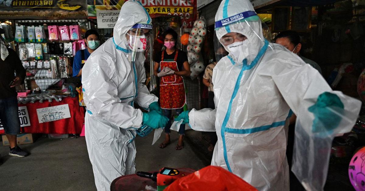 Thai Device Tests for Coronavirus in Armpit Sweat
