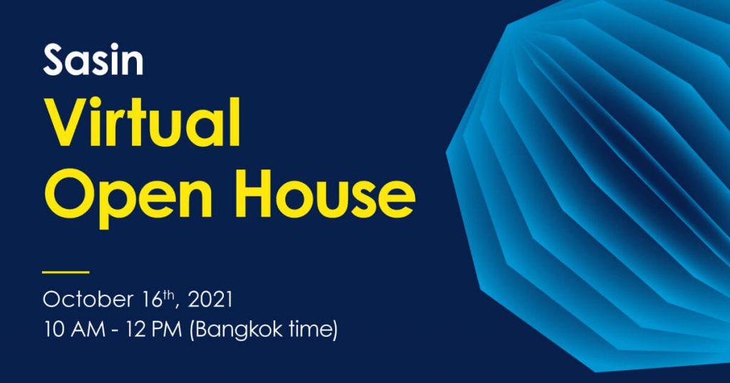 Sasin Virtual Open House 2021