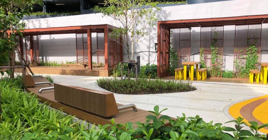 Bangkok Unveils 'Pocket Park' Off Rama IV Road